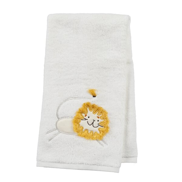 Animal Crackers 100% Cotton Hand Towel by Creative Bath